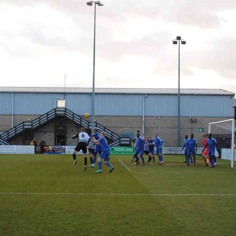 Corby Town v Dunstable Town