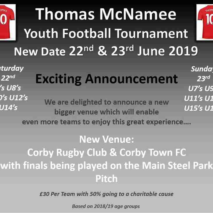 Thomas McNamee Youth Football Tournament 2019