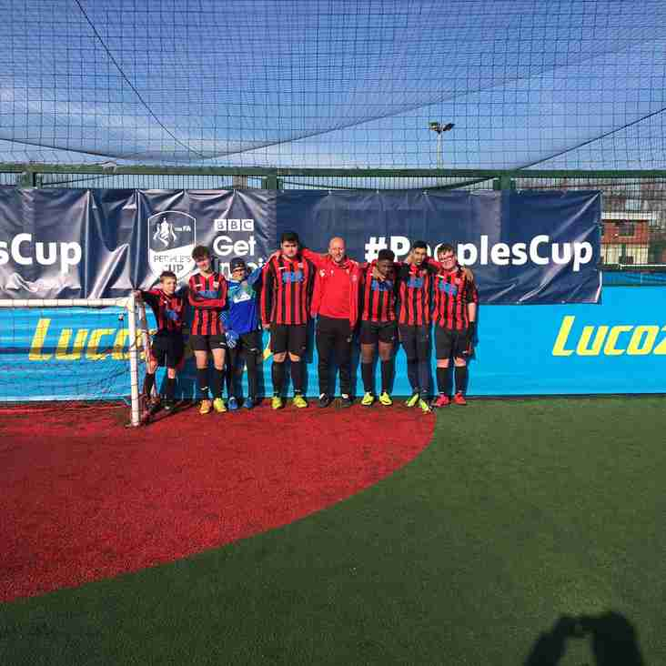 Shelley U16 Ability Counts team qualify for National finals of Peoples FA Cup