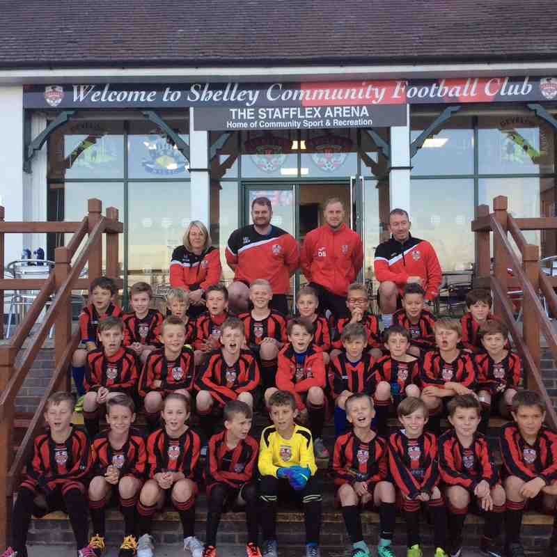 2016/17 Squad Photos U11s