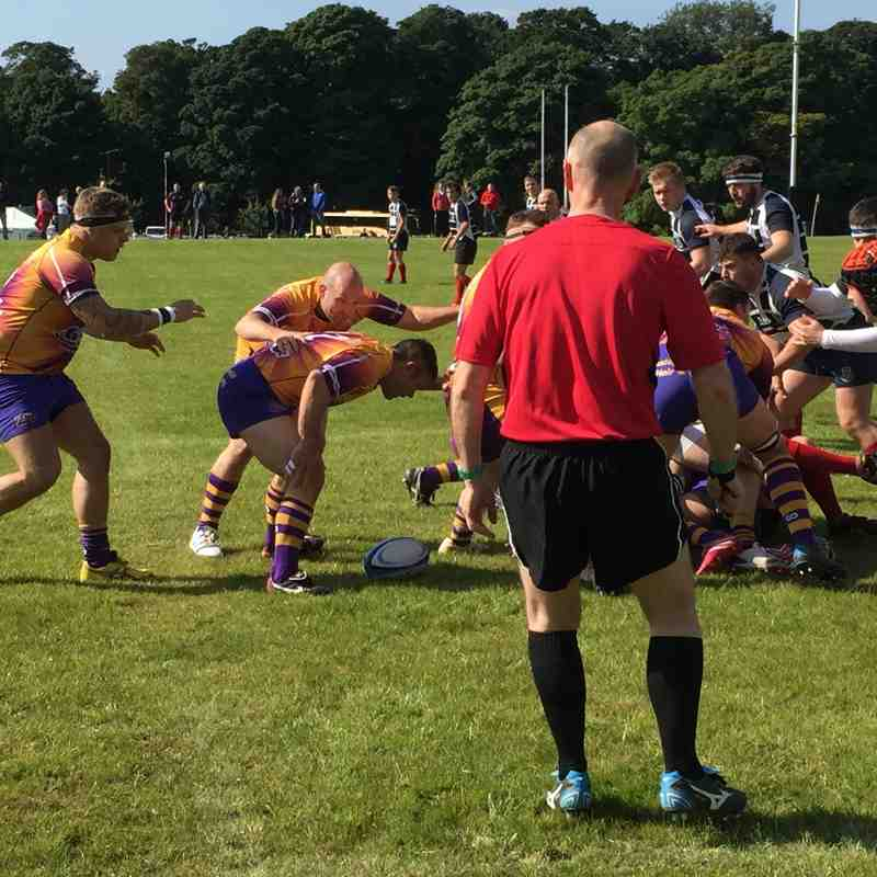 Marr 2XV Vs Musselburgh 2XV National Reserve League 2 (2015/16)