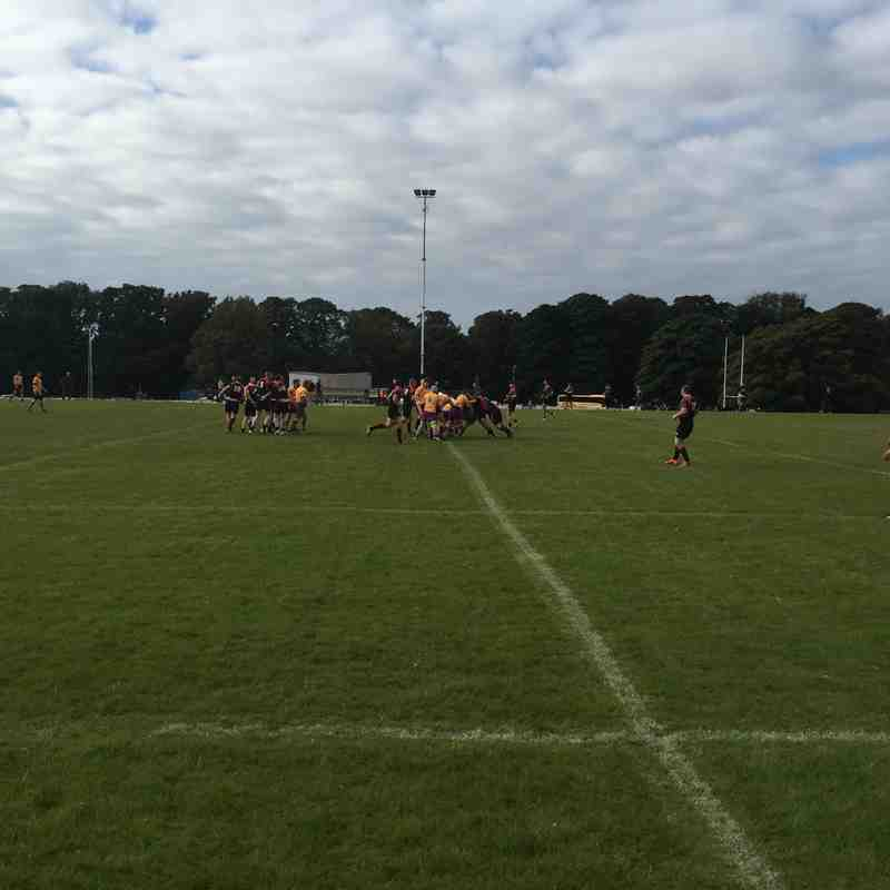 Marr 2XV Vs Biggar 2XV National league 2 (2015/16)