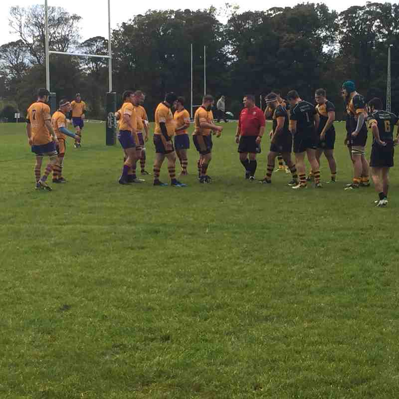Marr 2XV Vs Currie 2XV National Reserve league 2 (2015/16)