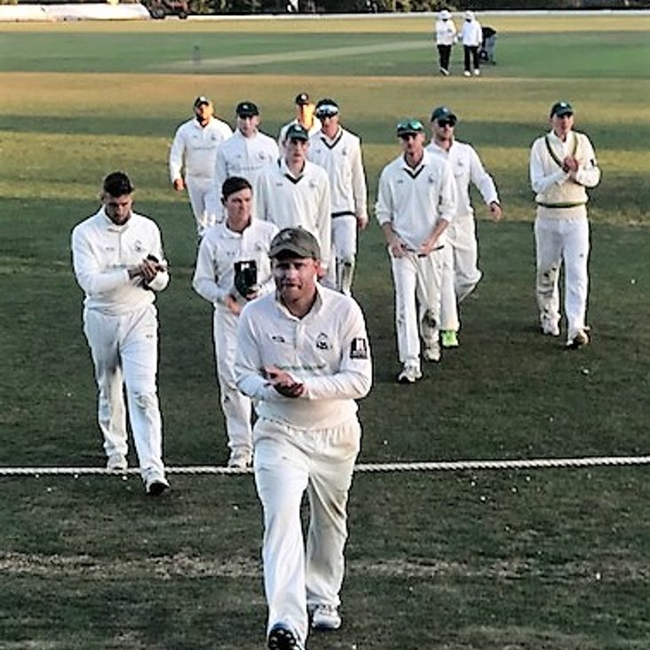 Four-midable bowling spell by Rishton<