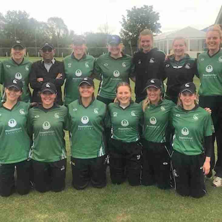 Berkshire Women go top of the table after beating Durham
