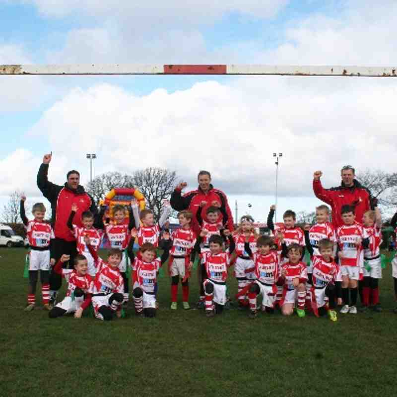 Yorkshire RFU U7s & U8s tournament at Grange Park (23/04/14)