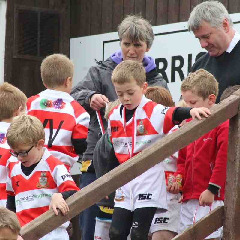 Under 7s Tournament at Wensleydale RUFC - 18/10/15