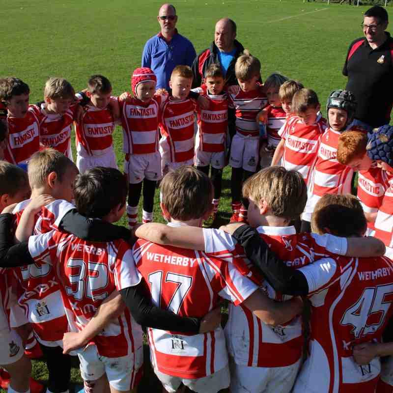 Wetherby RUFC U10s vs Ripon RUFC U10s (away - 2016)