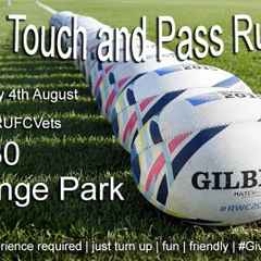 Free Touch and Pass - Every Thursday Evening