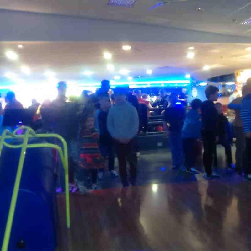 U8 and U9 Bowling Social 1-2016