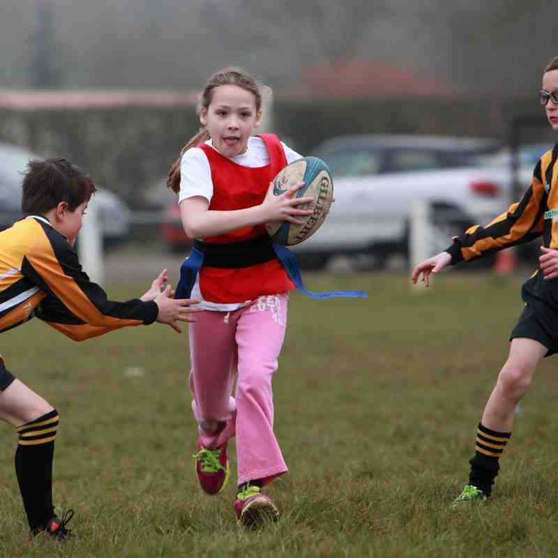Pershore School Tag Rugby Tournament March 2016