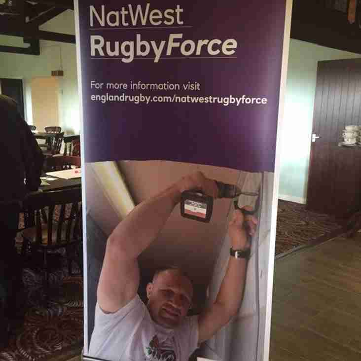 NATIONAL RUGBY WORKFORCE DAY Saturday 25th June