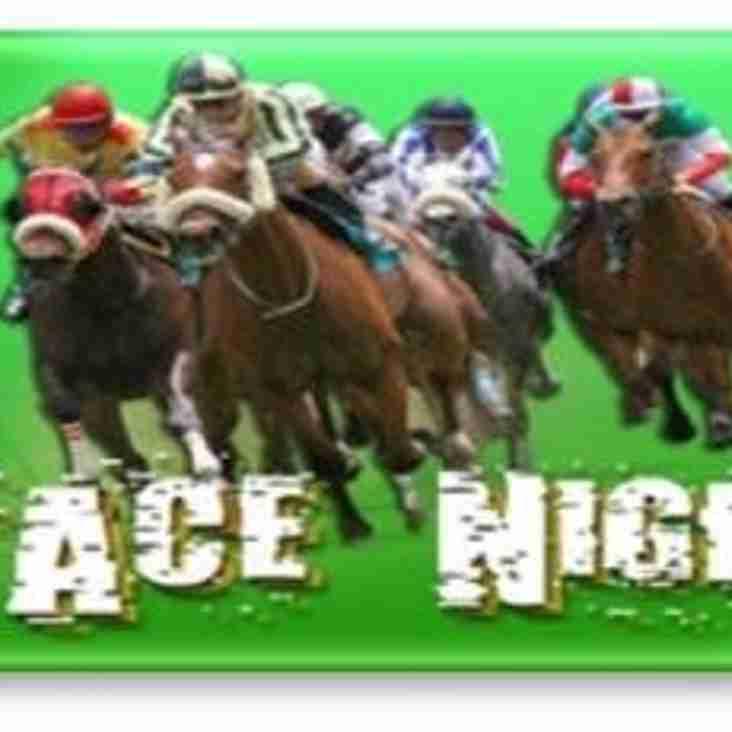 RACE NIGHT - 28th January 7 pm