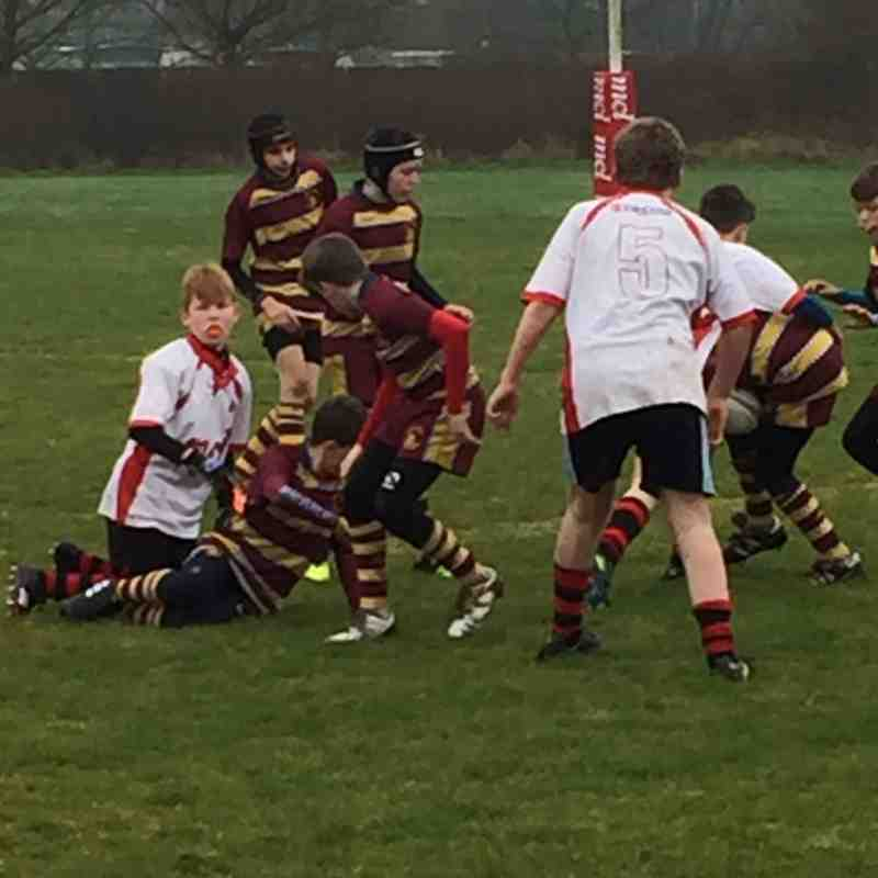 U13 at home vs Malvern 1-2017