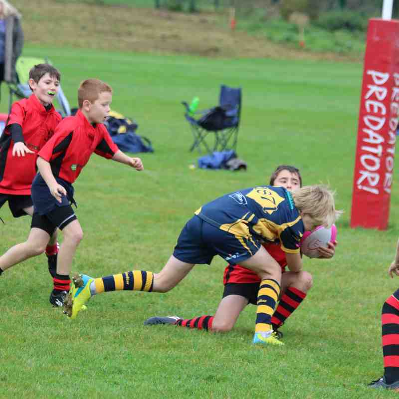 U11s away at Worcester 10-2017