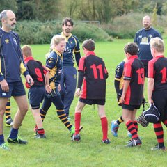 U11s away at Worcester 10-2017 Game 2