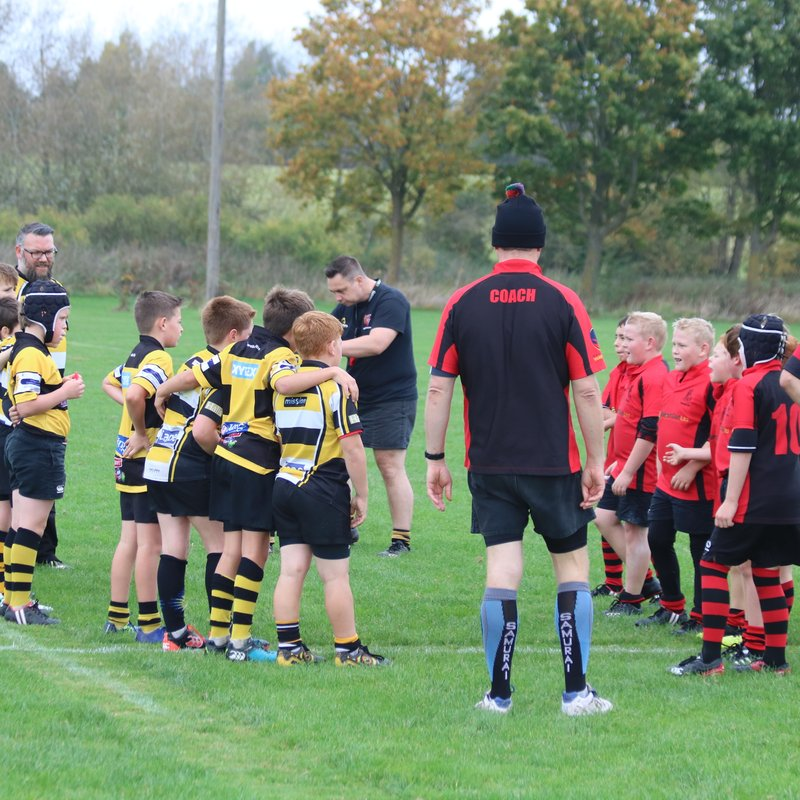 U11s home against Droitwich Game 2 10-2017