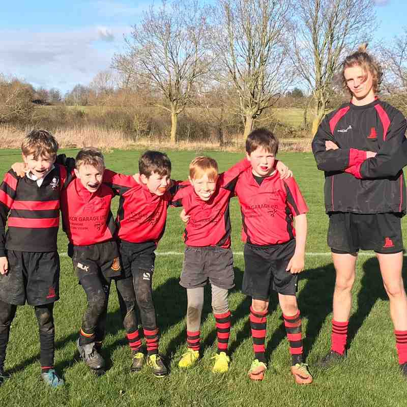 U9s home against Chaddesley 2-2018