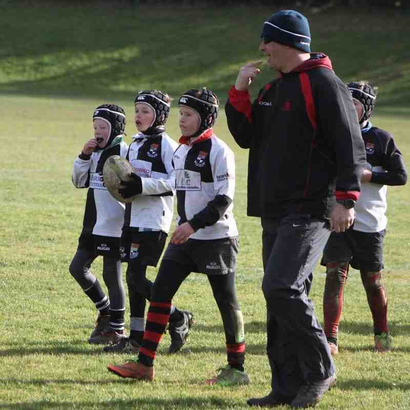 U10 Barbarian Team vs. Tewkesbury, Evesham and Cheltenham N