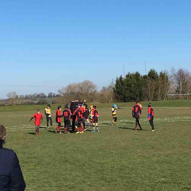 U10 Barbarian Team vs. Droitwich 2-2018