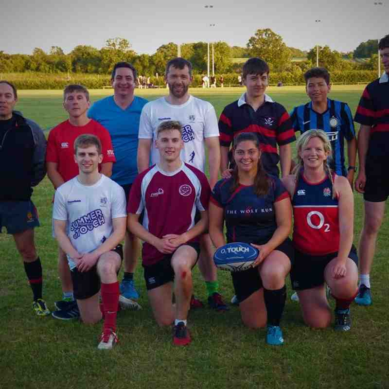 Pershore mixed touch at Droitwich 21-6-2018