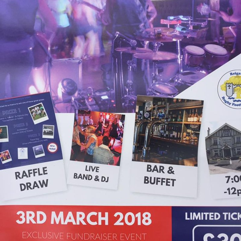 RRFC Fundraising Party
