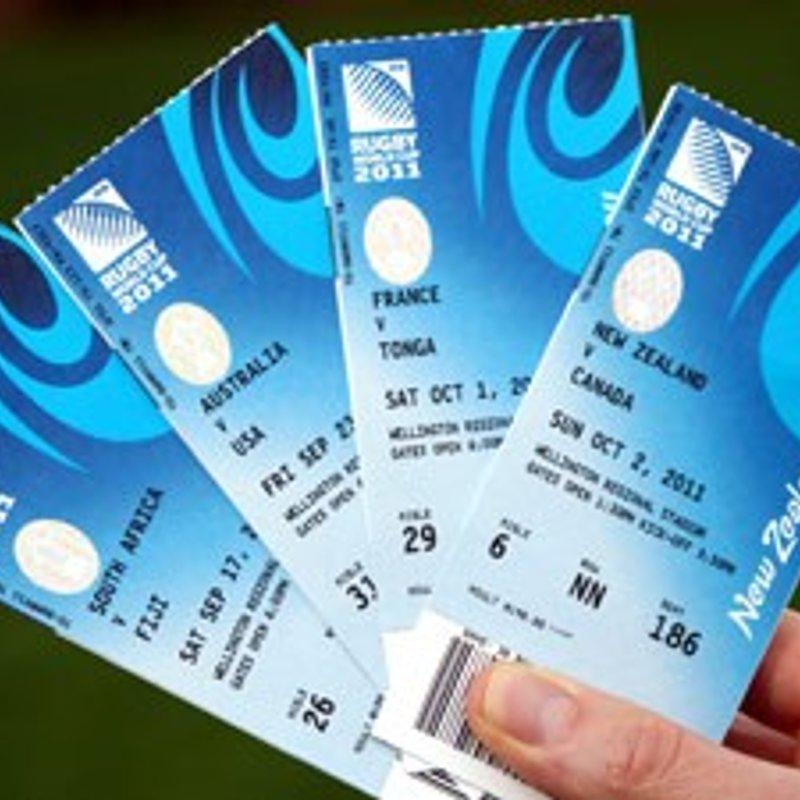 Autumn Internation Tickets available