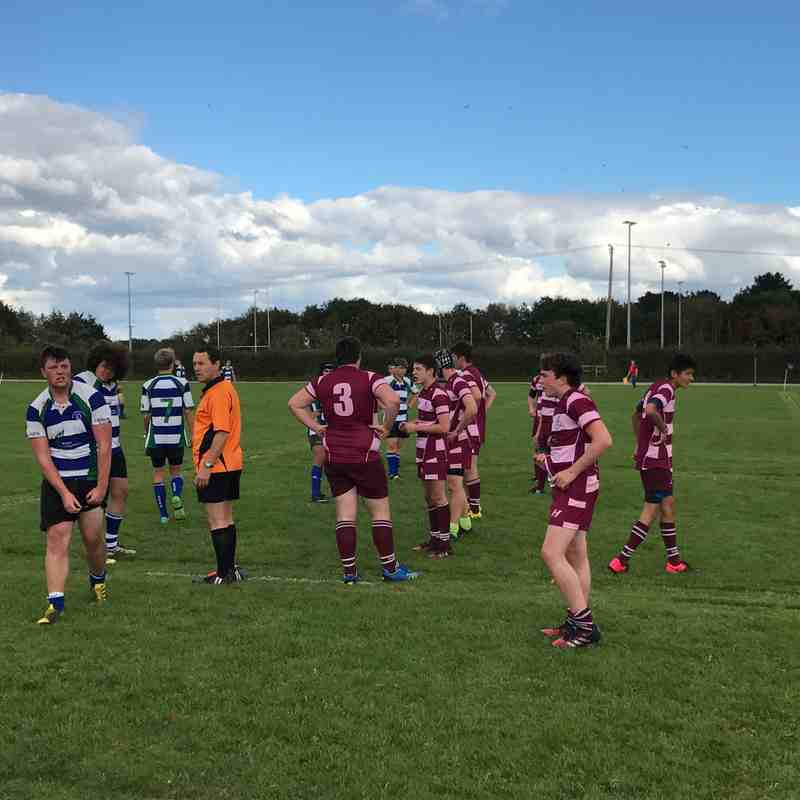 Colts  v Oakmedians U17 - Sun  9 Oct 2016