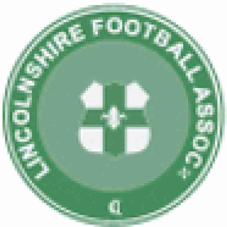 Lincolnshire FA County Junior Cup - 1st Round Draw