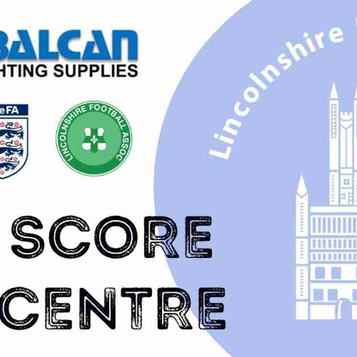Balcan Lighting Lincolnshire Football League - Full Time Score Centre