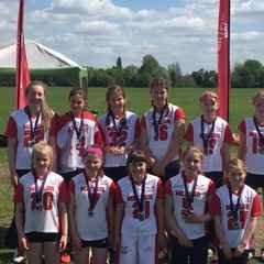 Mellor U13 Girls - Runners Up in Manchester Challenge
