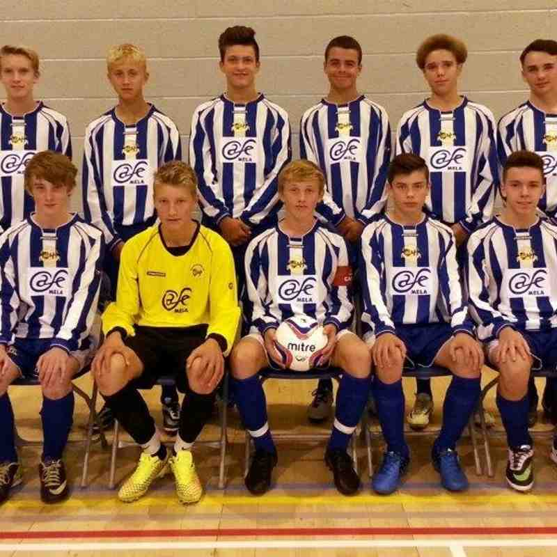 Worcester City Under 15's NERF JPL - Team Photos