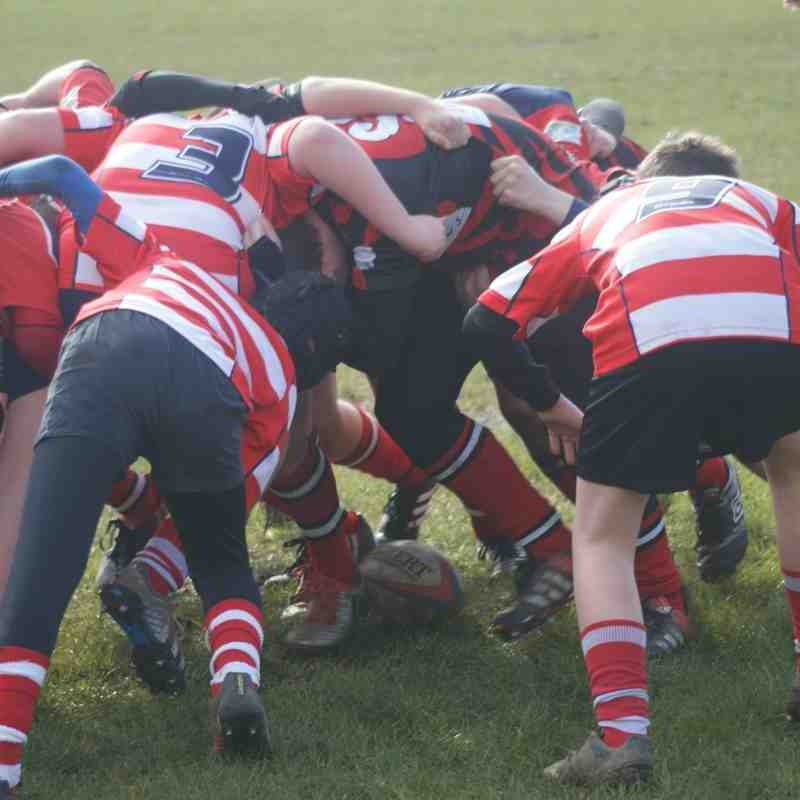 Under 13's Bolton v Vale 28-02-16