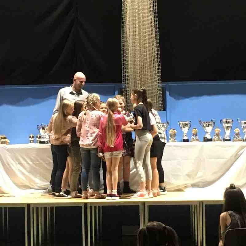 Haslingden junior girls and ladies presentation night 2017-2018