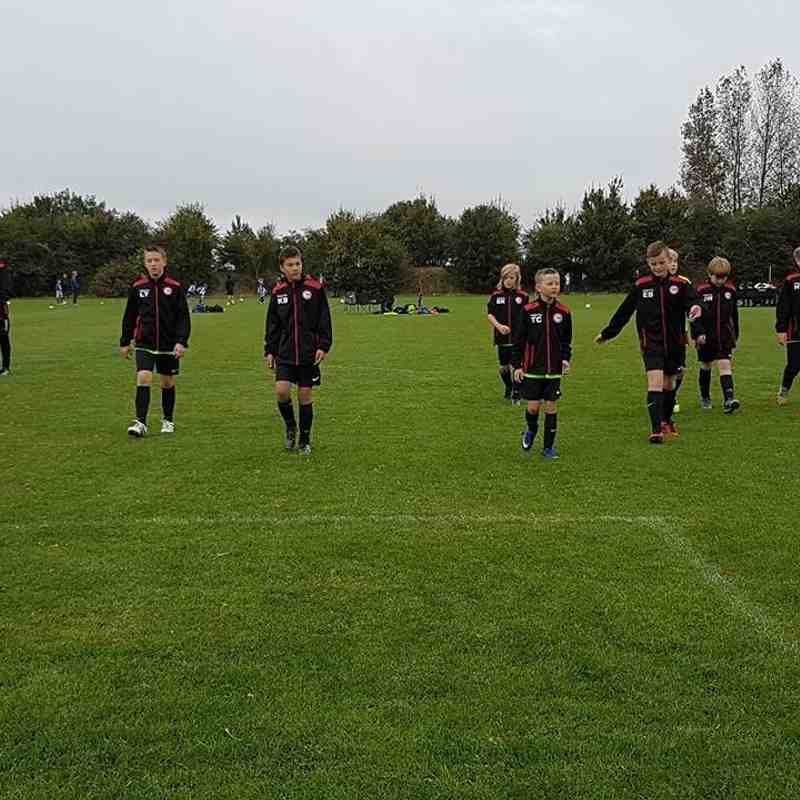 Sutton Rangers v Haverhill Rovers U12 White