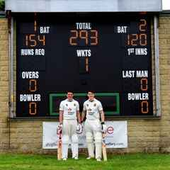 Priestley Cup record opening stand