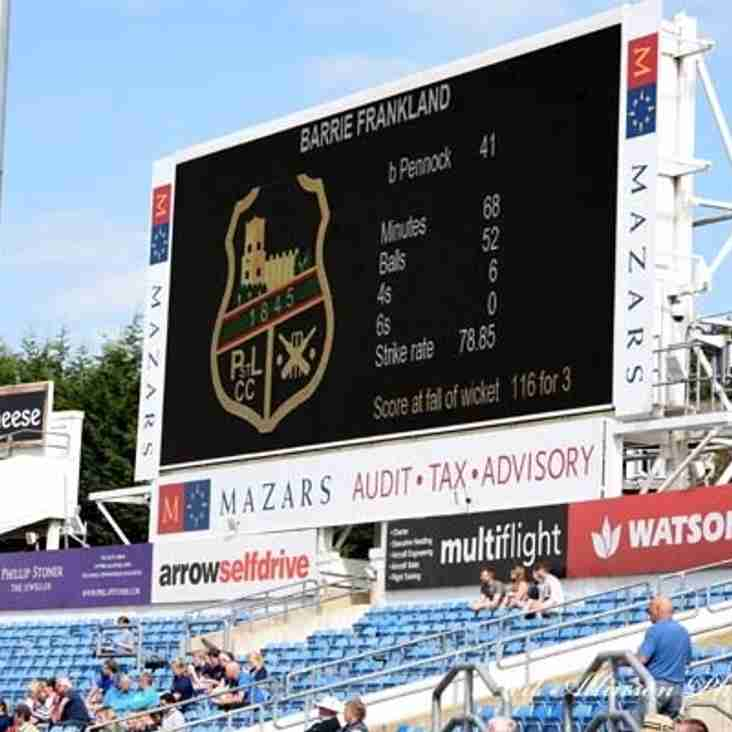 2016 Season Cricket Report