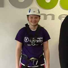 U18 abseils for children's charity