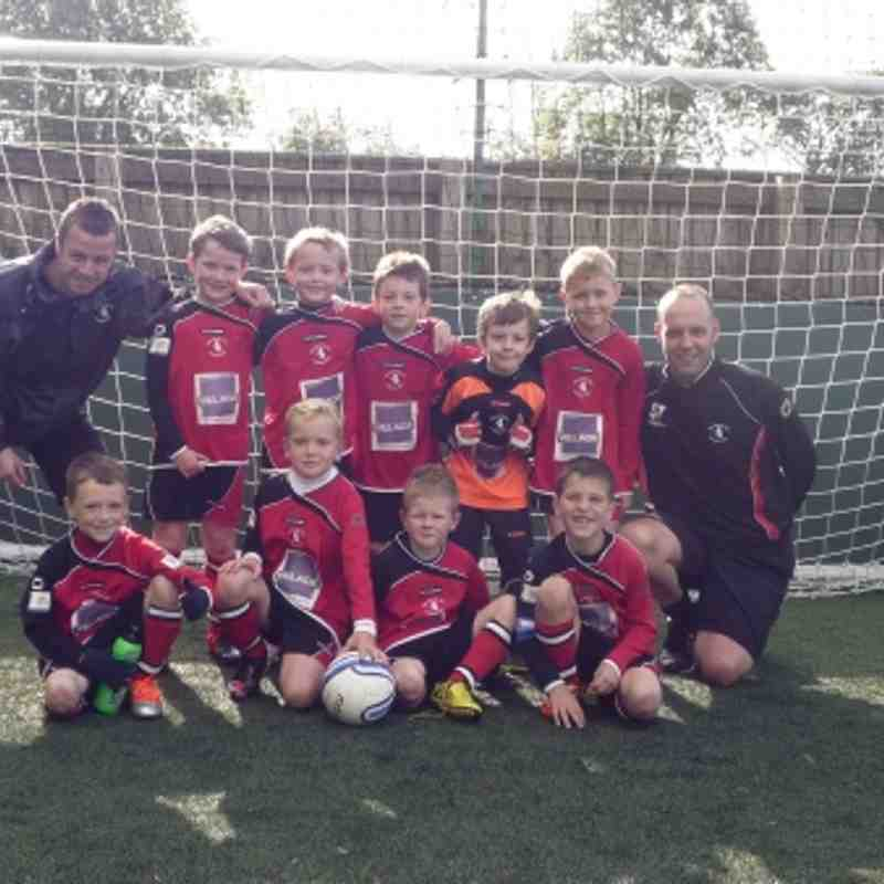 Woodbank U8 Blacks (2012-2013)