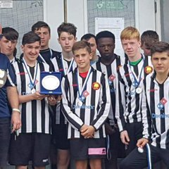 Ballyouster U16's Cup-Willows FC Shield Winners