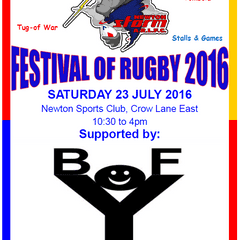Newton Storm Festival of Rugby 2016