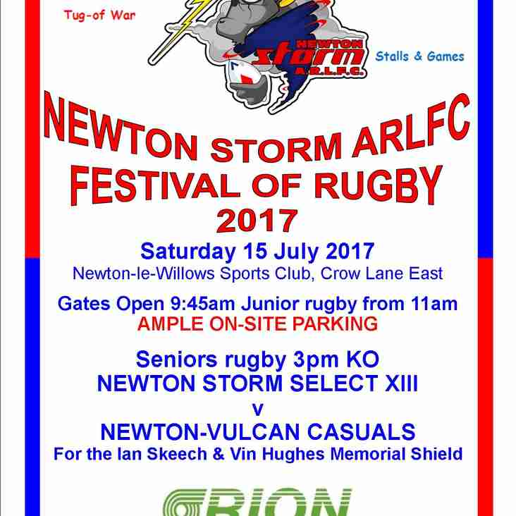 NEWTON STORM FESTIVAL OF RUGBY 2017