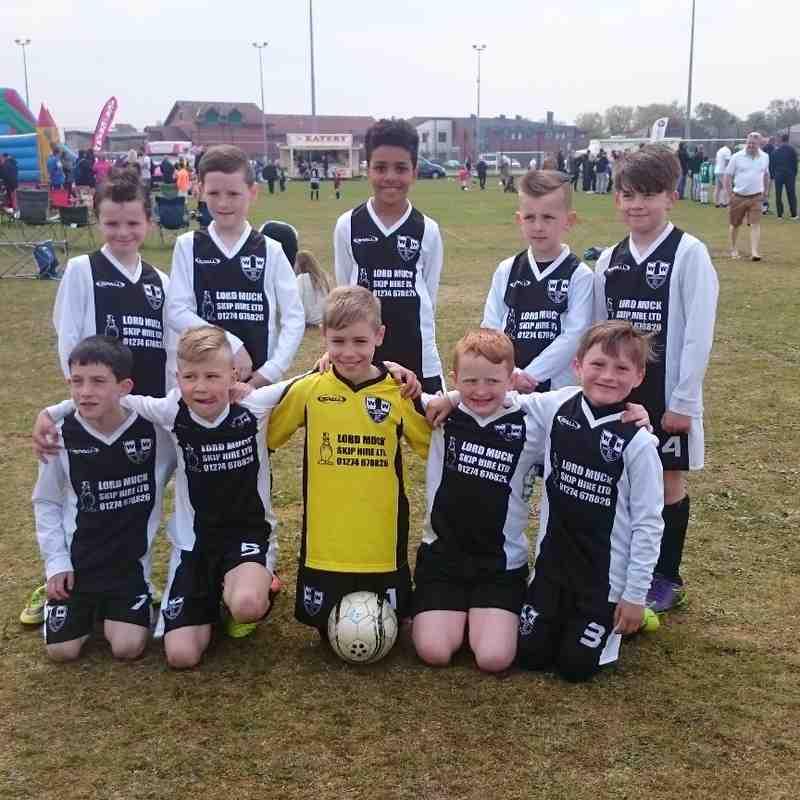 Wyke Wanderers u9 Blackpool youth soccer tournament trophy...