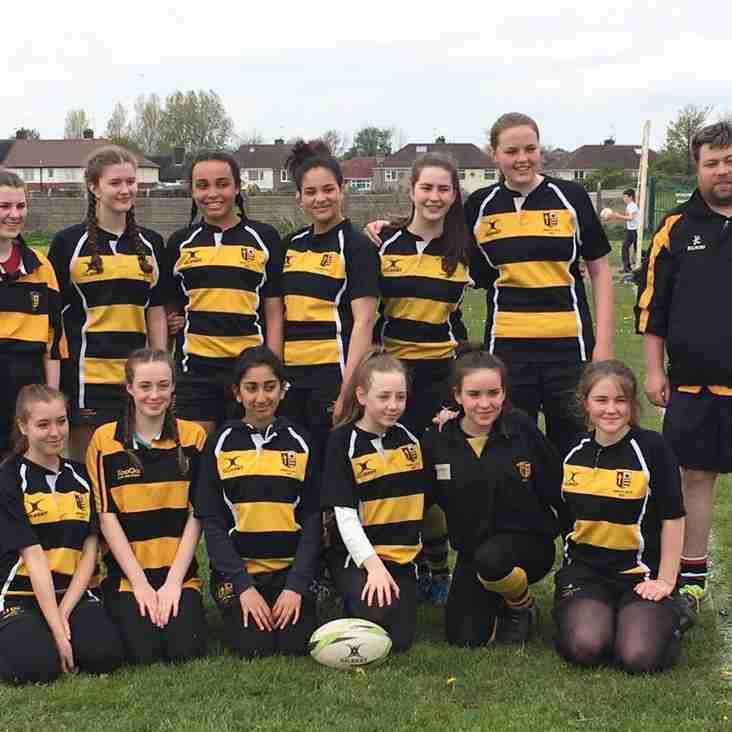 Didsbury Toc H U15 Girls First Win