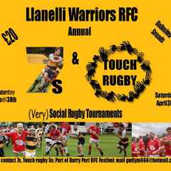 Social 7s This Saturday - register a team!!!!