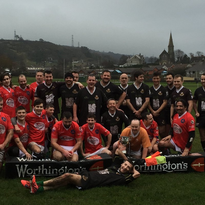 Warriors see off 2016 with cup Triumph.