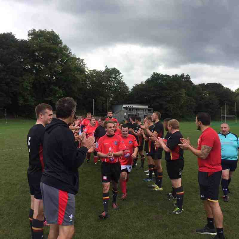 Llanelli Warriors v WRU Select XV Sept 2017