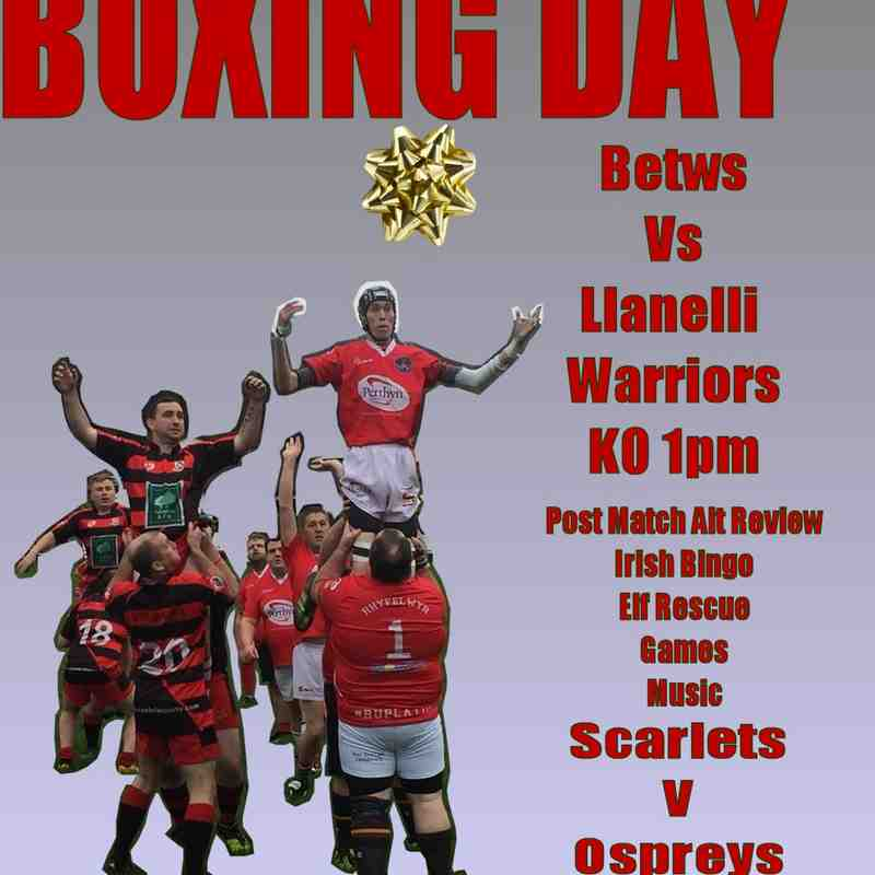 Betws Boxing Day 2017