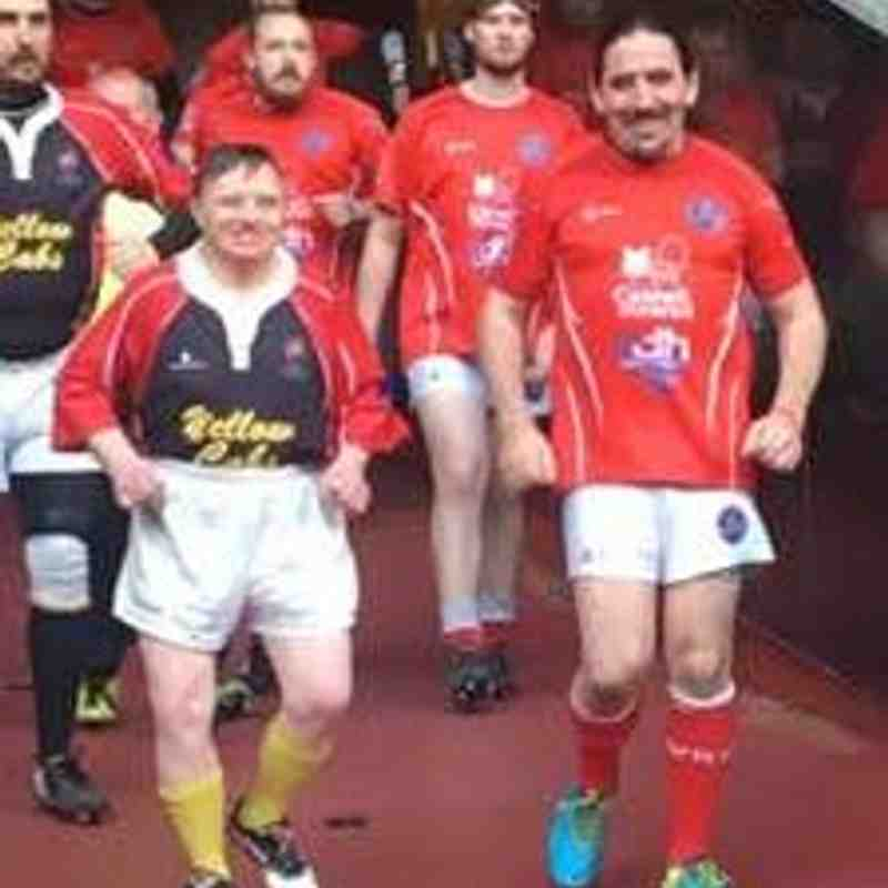 Gladiators match Principality Stadium 30th April 2018