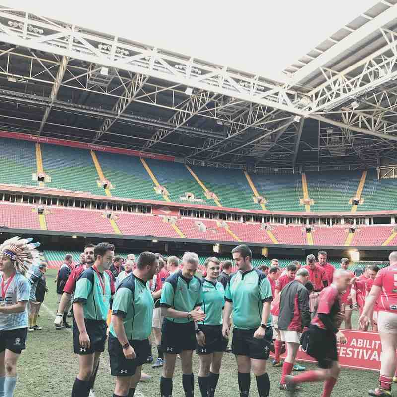 Post Match Principality Stadium 30th April 2018